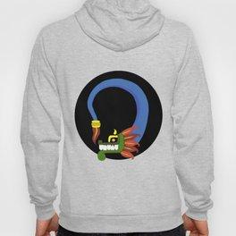 Toon Quetzalcoatl Hoody