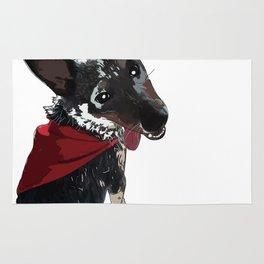 Adorable Dog Wrigley Rug