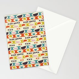 Deviled Eggs Ecru Stationery Cards