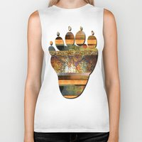 western Biker Tanks featuring WESTERN GOLD by VIAINA