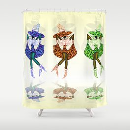 CAN CAN GIRLS Shower Curtain