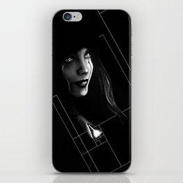 Cyborg Beauty iPhone Skin