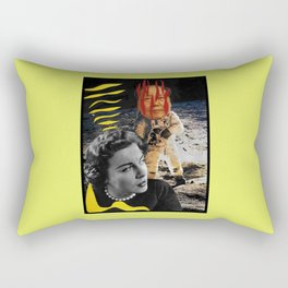 The Man Who Came Back From The Moon Is Not My Husband Rectangular Pillow
