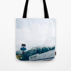 Twin Peaks Cafe Tote Bag