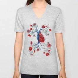 Romantic Anatomy Unisex V-Neck
