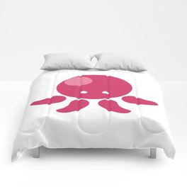 Adorable Cartoon Octopus Professionally Designed Comforters