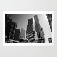 Los Angeles Skyscrapers Art Print