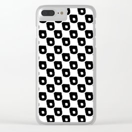 Abstract Hand Drawn Patterns No.1 Clear iPhone Case