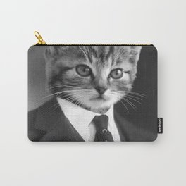 Gentleman Cat Carry-All Pouch