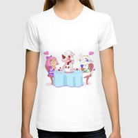 animal crossing T-shirts featuring Animal Crossing :: Cake time by Magnta