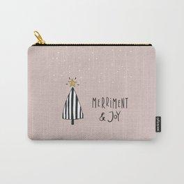 Merriment + Joy Carry-All Pouch