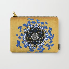 Four Flowers Carry-All Pouch