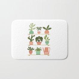 Plant Shelves Bath Mat