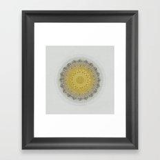 Mandala Love 2 Framed Art Print