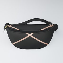 Rose Gold Pink Arrows Fanny Pack