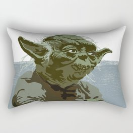 There is no try. Rectangular Pillow