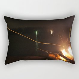 Fire Light Rectangular Pillow