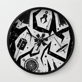 Space-A-Cons Wall Clock
