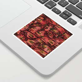 *ABSTRACT_A Sticker