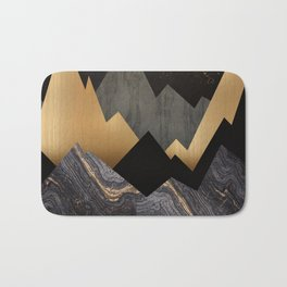 Metallic Night Bath Mat