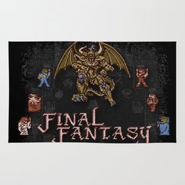 Fantasy Final Rug