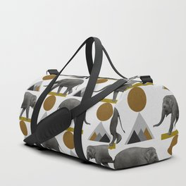 Tribal Elephant Duffle Bag