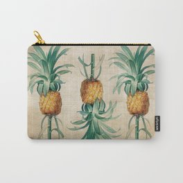 Vintage Hawaiian Pineapple Carry-All Pouch