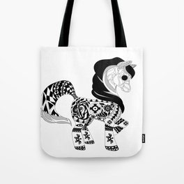 Miss Pony Tote Bag