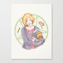 Willow Rosenberg of Buffy Canvas Print