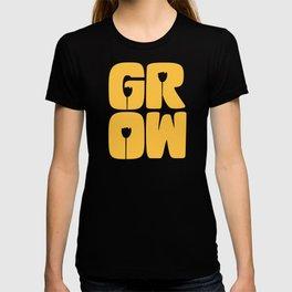 Grow Typography T-shirt