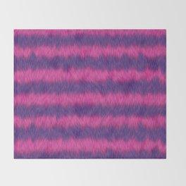 Cheshire Cat 01 Throw Blanket
