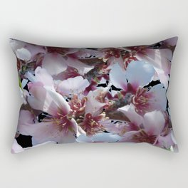 Almond Blossoms Rectangular Pillow
