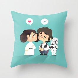 I love you, i know Throw Pillow