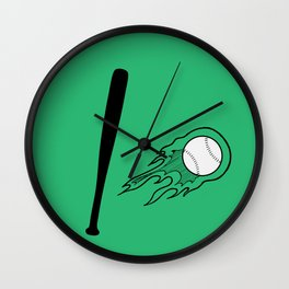 Bassball Wall Clock