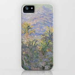 Palm Trees at Bordighera iPhone Case