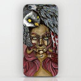 Owl Head iPhone Skin