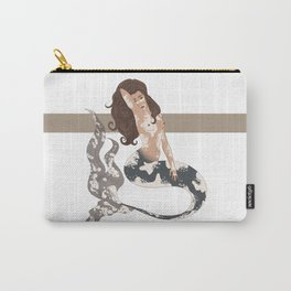 Blue Koi Carry-All Pouch