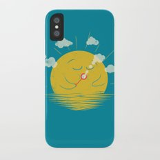 Partly Cloudy iPhone X Slim Case