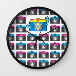 We are watching you. PEACE!!! Wall Clock