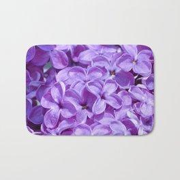Purple Lilacs by Teresa Thompson Bath Mat