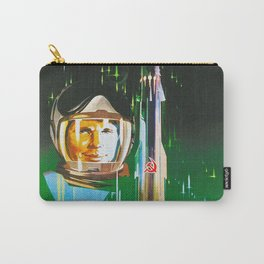 Gagarin - Soviet vintage space poster [Sovietwave] Carry-All Pouch