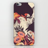 crow iPhone & iPod Skins featuring Harbors & G ambits by Teagan White