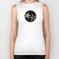 starfish Biker Tanks featuring Starfish by Dana Martin
