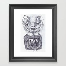 LA CREEPAH Framed Art Print