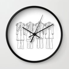 Sgt. Peppers BW Wall Clock