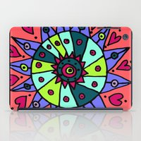 cara iPad Cases featuring Cara by Ellie And Ada