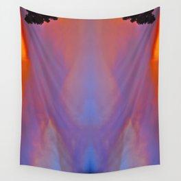 Smoky Sunset Bay Wall Tapestry