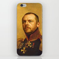 replaceface iPhone & iPod Skins featuring Simon Pegg - replaceface by replaceface