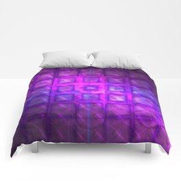 Celestial Rain Tiles Comforters
