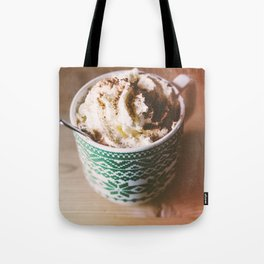 Whipped Cream Hot Chocolate Tote Bag